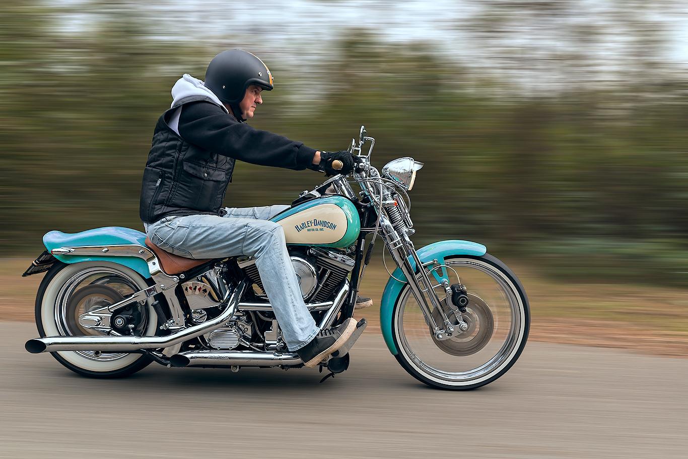 Spostamenti sulla Harley...