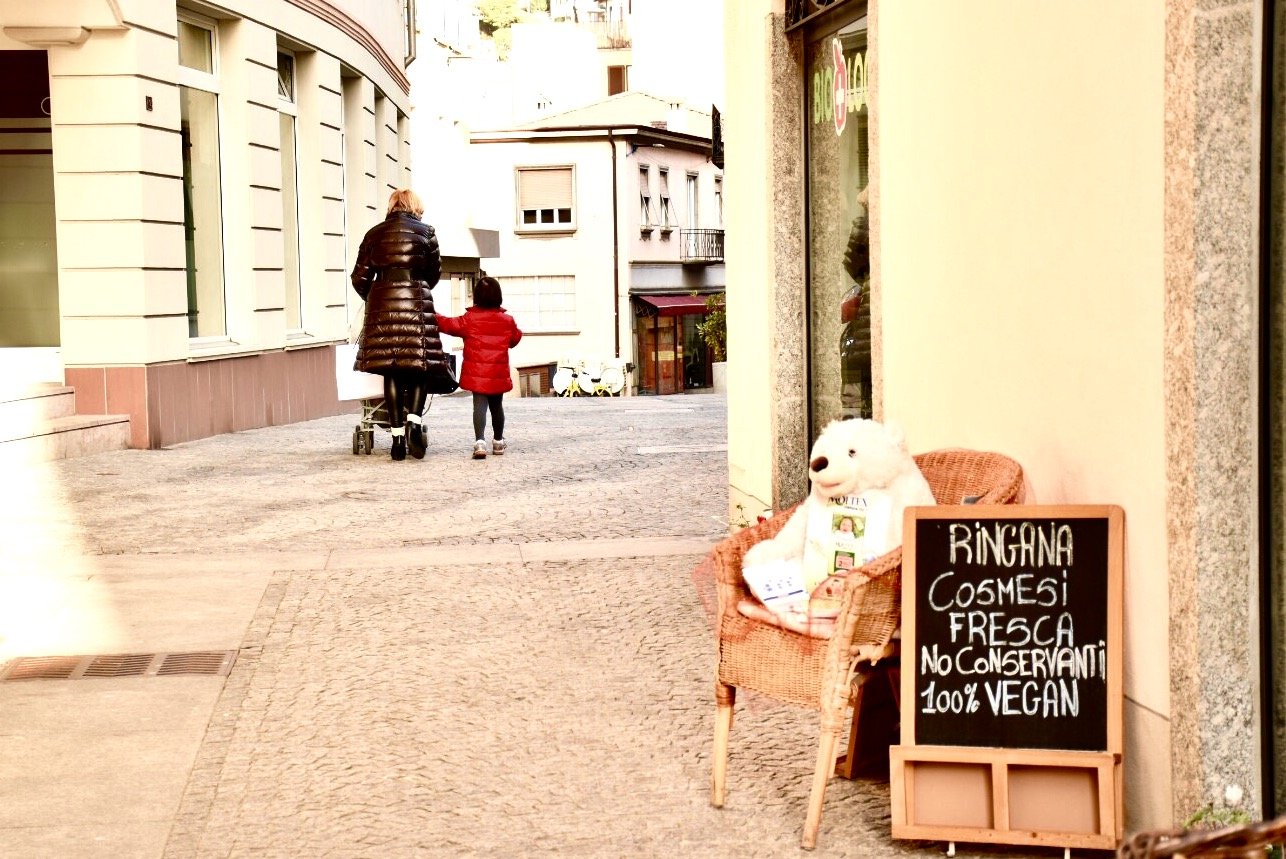 On the streets of the Borgo...