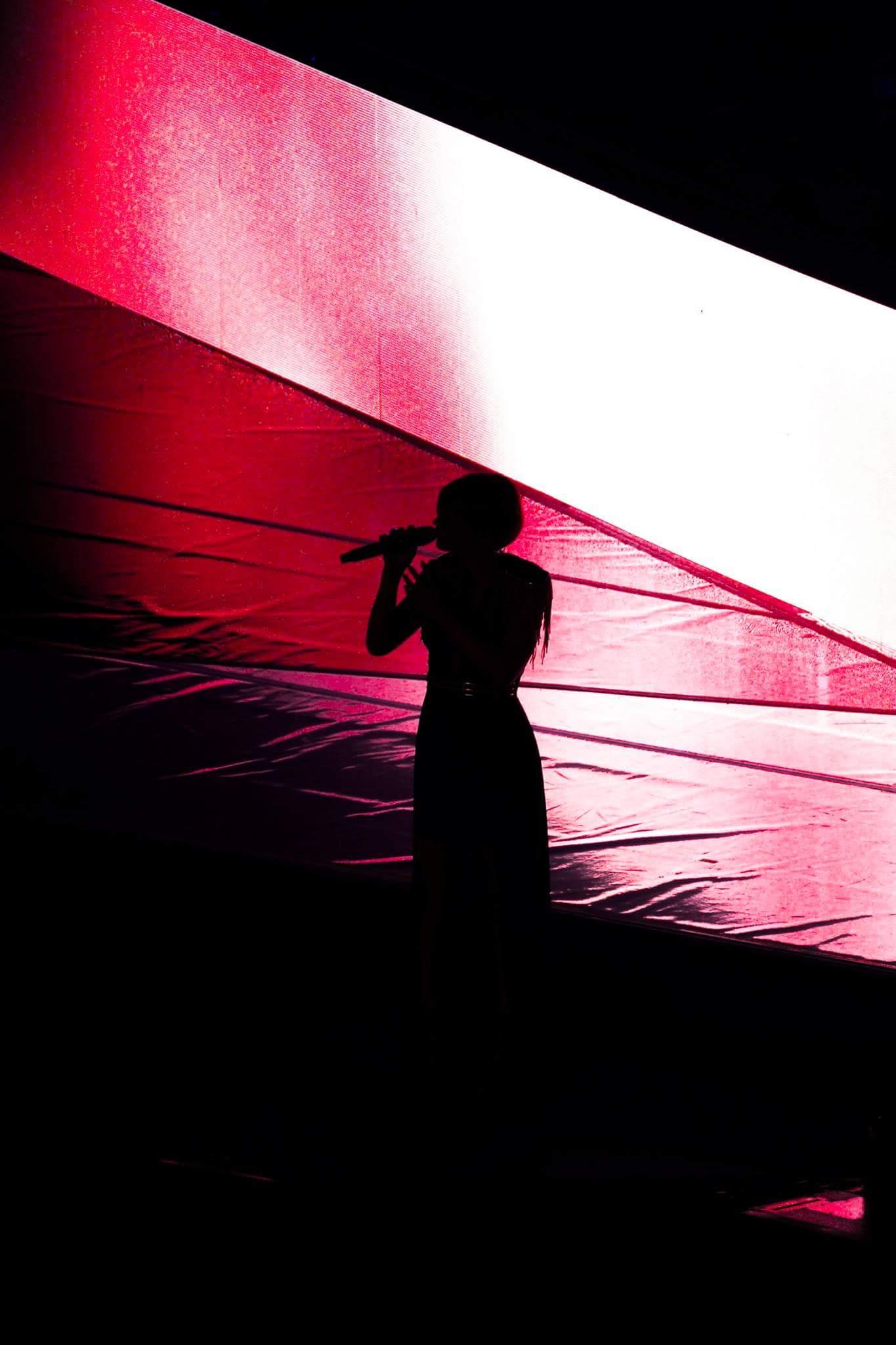 Concerto Alessandra Amoroso (controluce)...