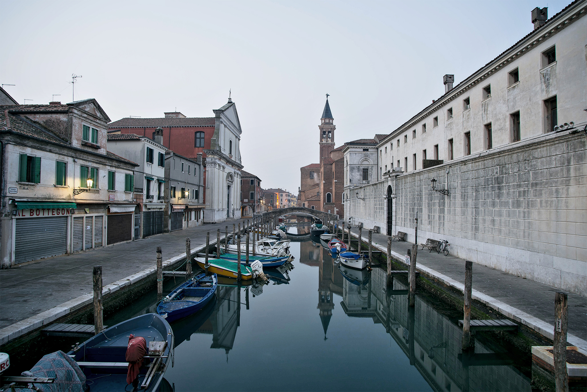 Chioggia 2 / A gray day...