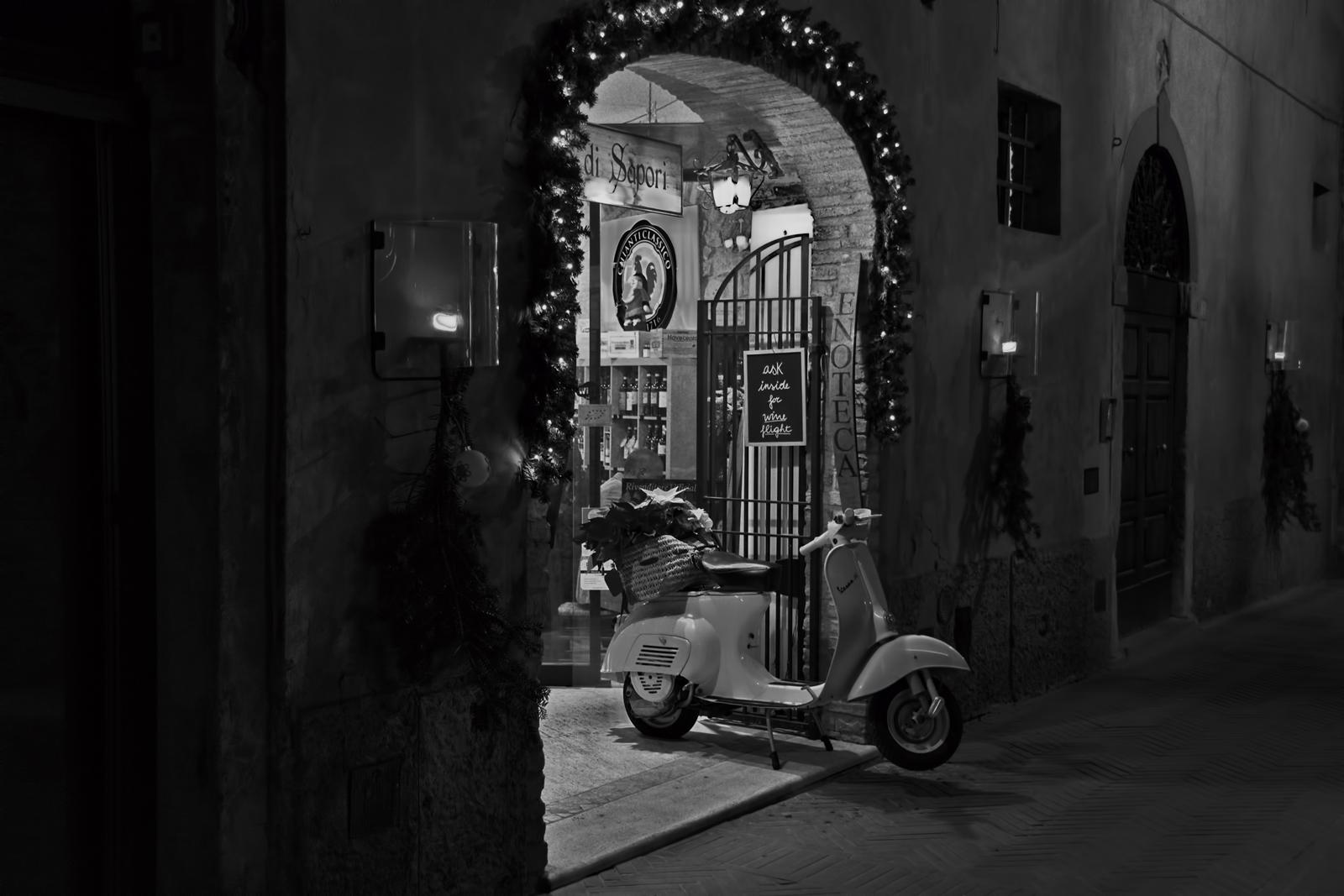 altri tempi......una sera di fine dicembre...
