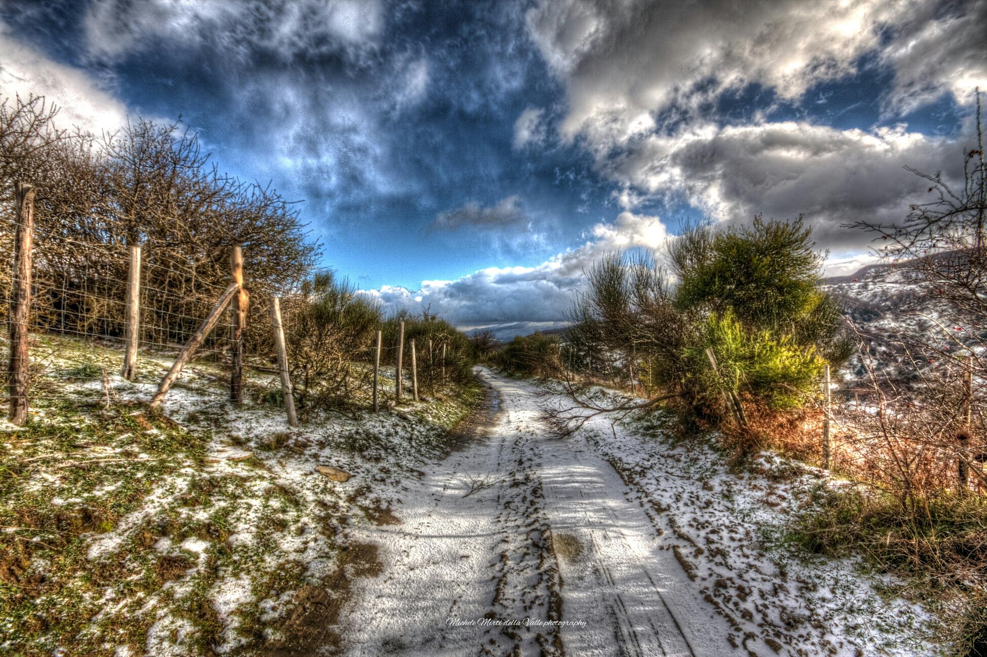 Neve a Floresta (Sicilia)...