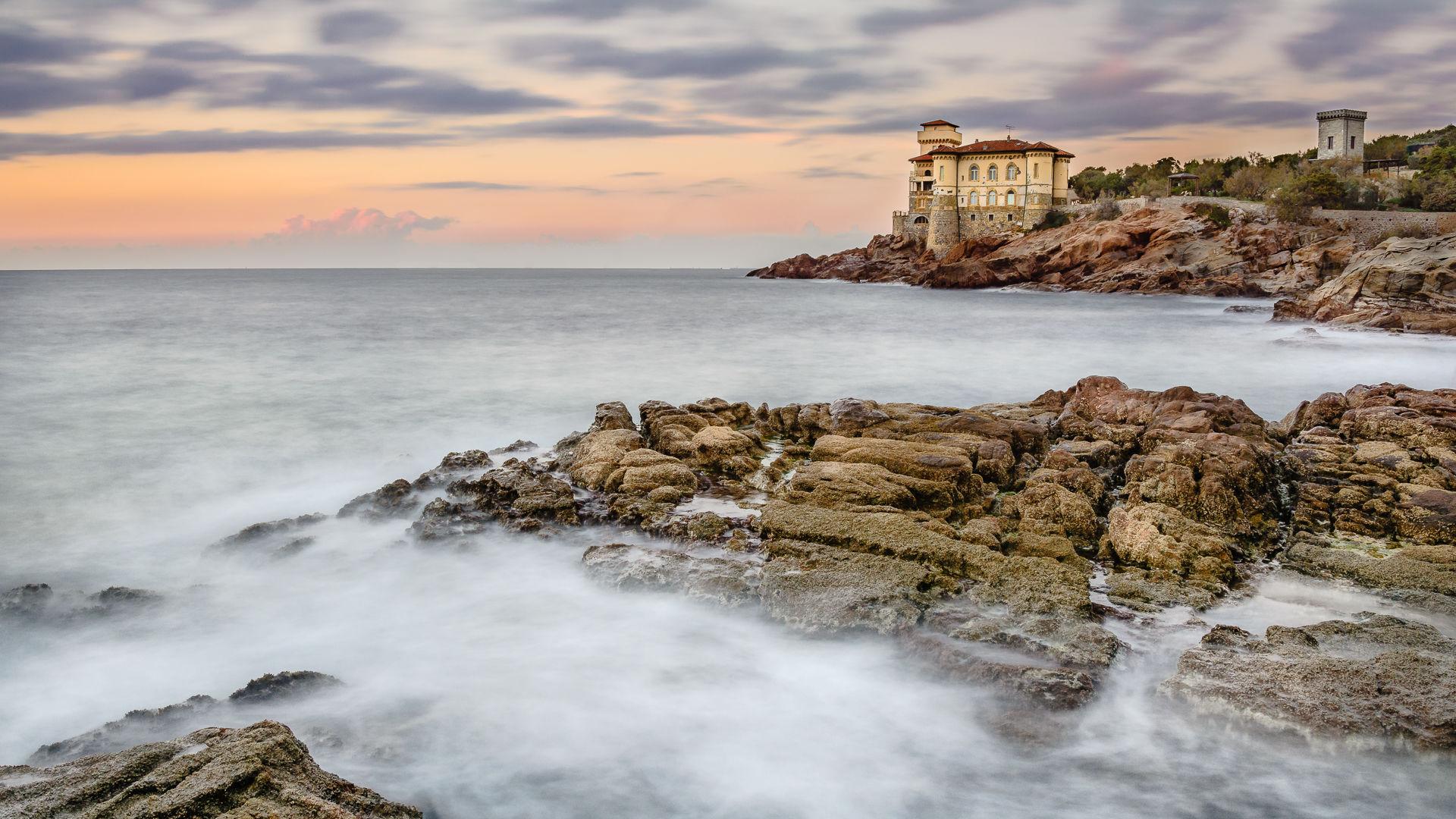 One evening in Castel Mug...