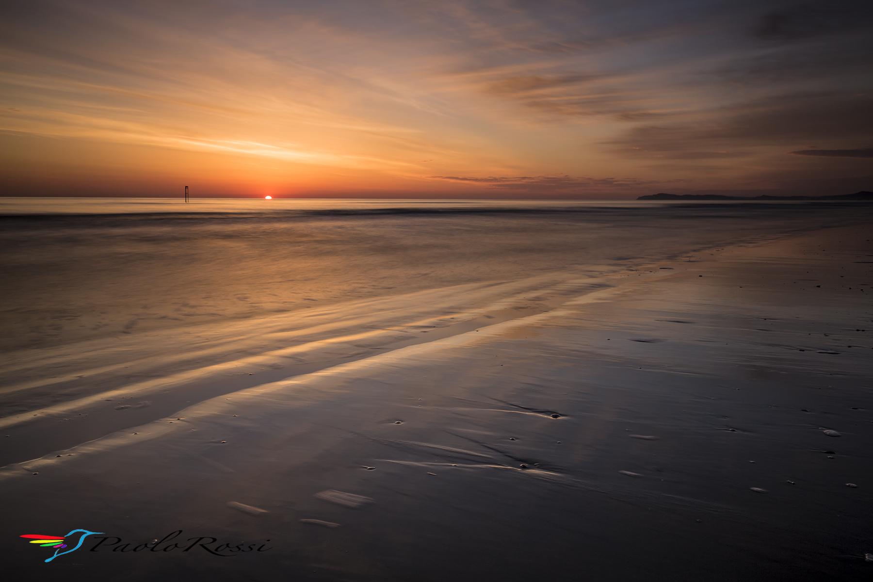 At sunrise ......