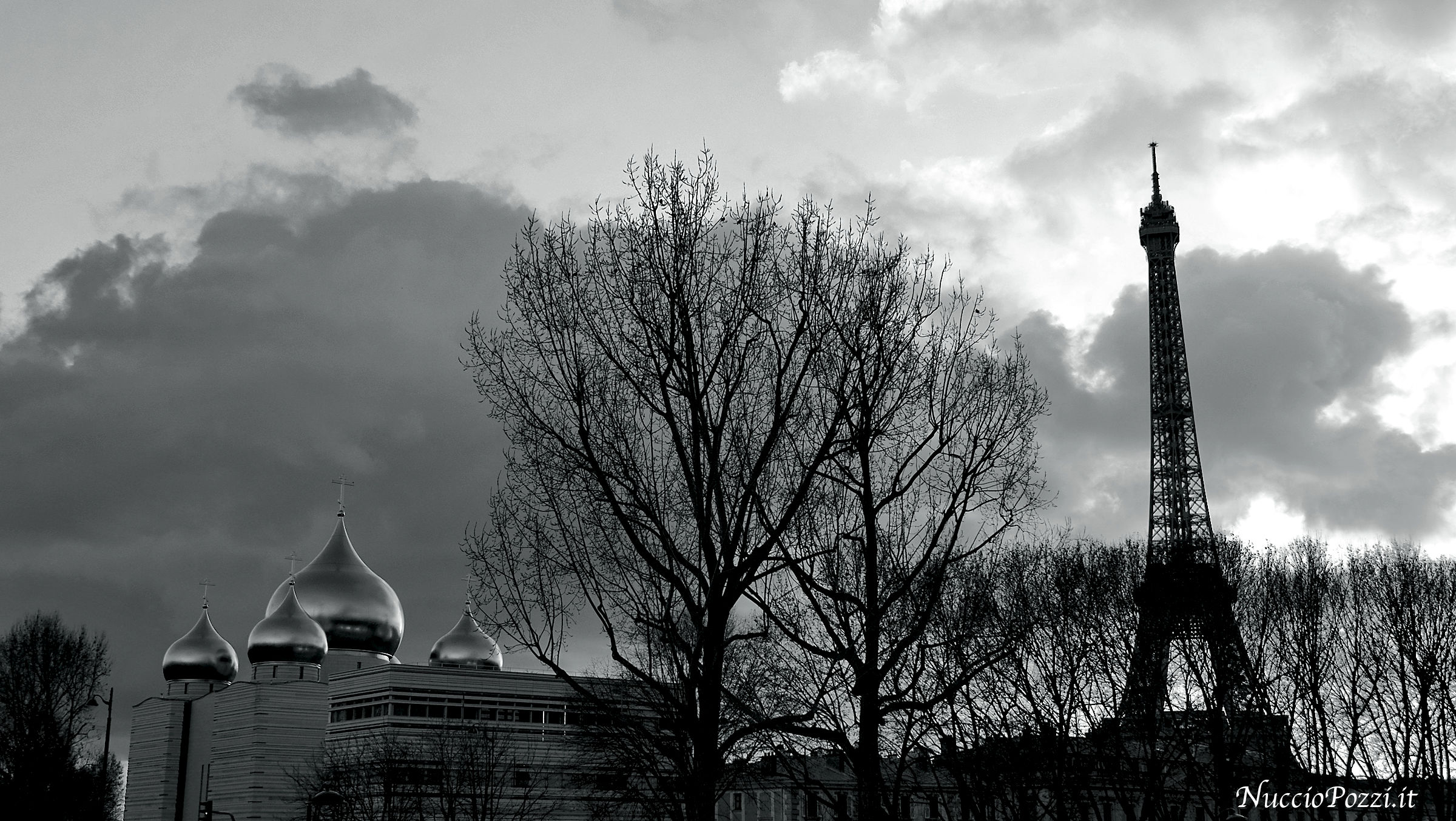 Moschea russa e torre Eiffel...