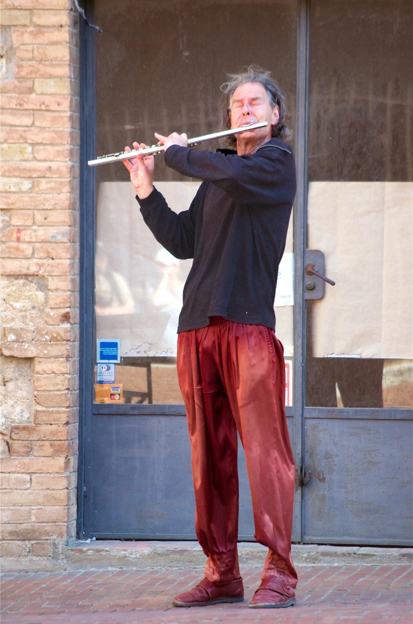flutist...