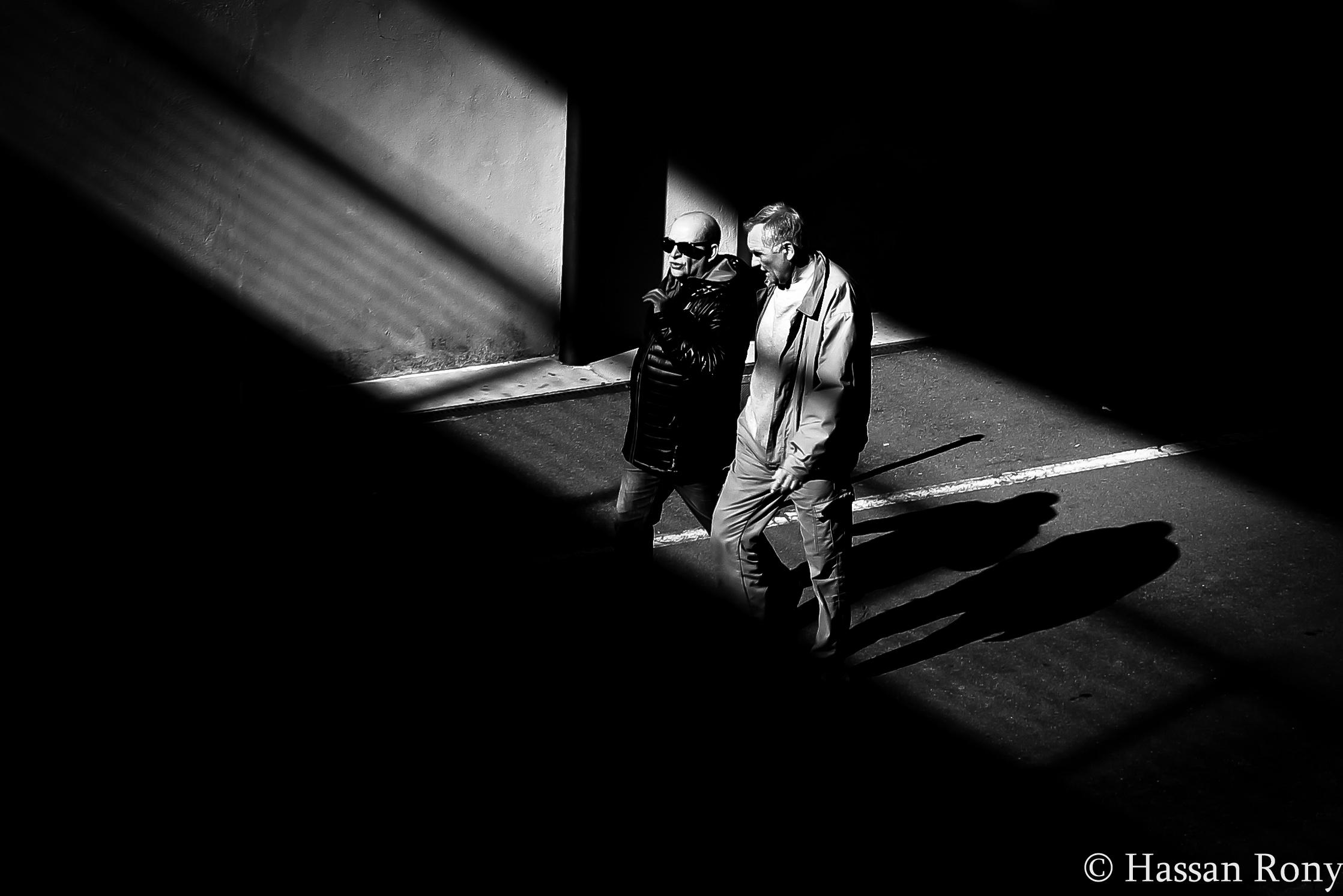 Gioco di luci e ombre....