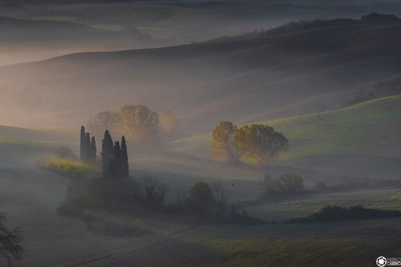 Glimpses Val D'Orcia...