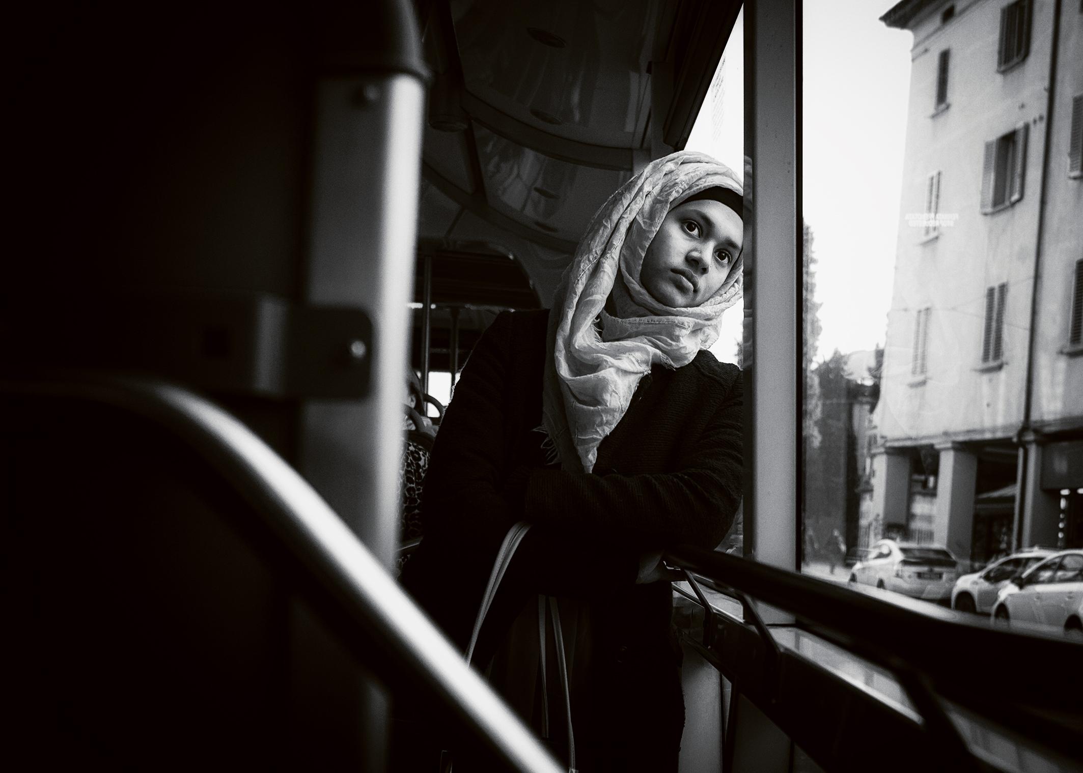 La ragazza musulmana...