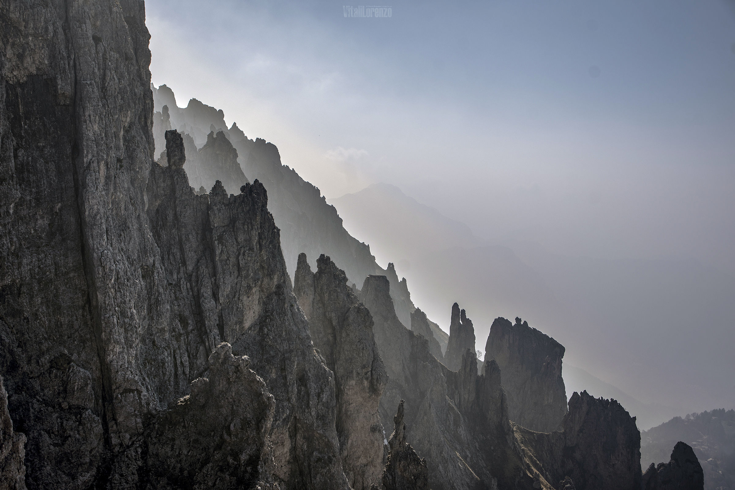 Among the peaks of the Grigna...
