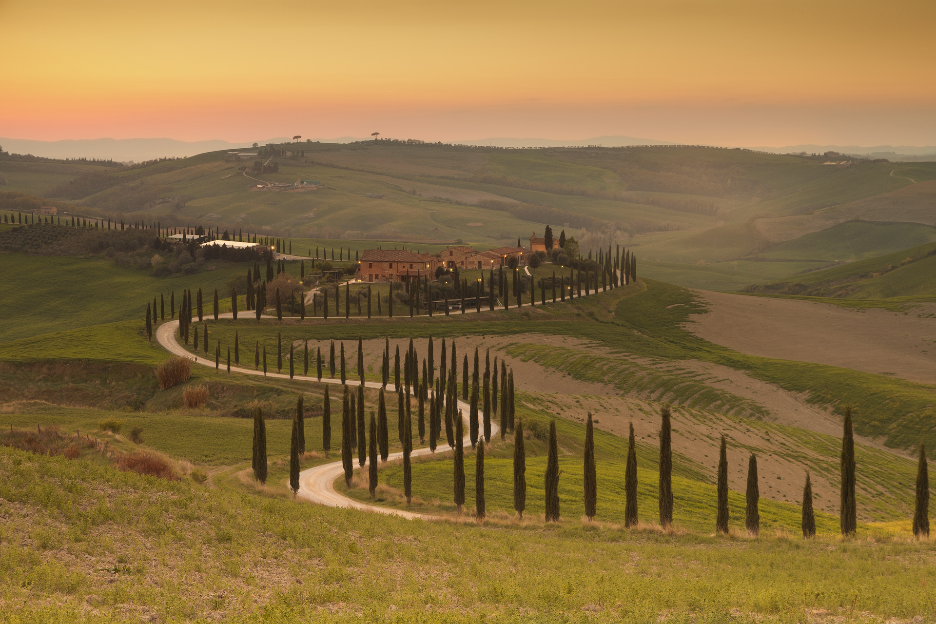 Val d 'Orcia - Asciano...