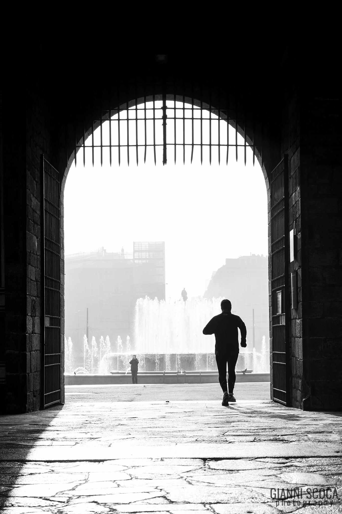 City runner...