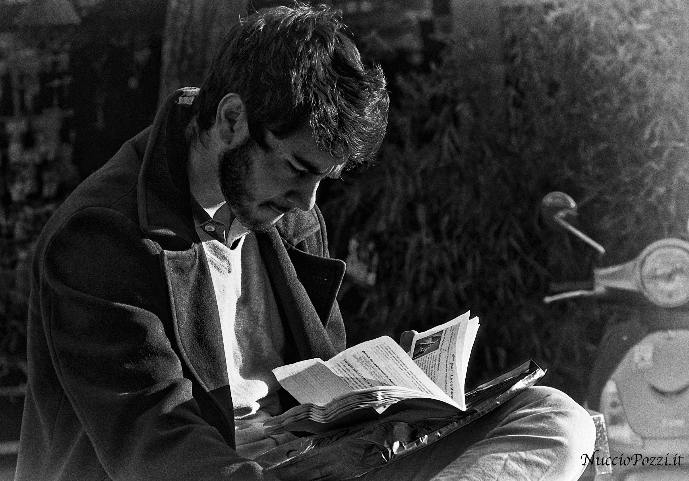La lettura...