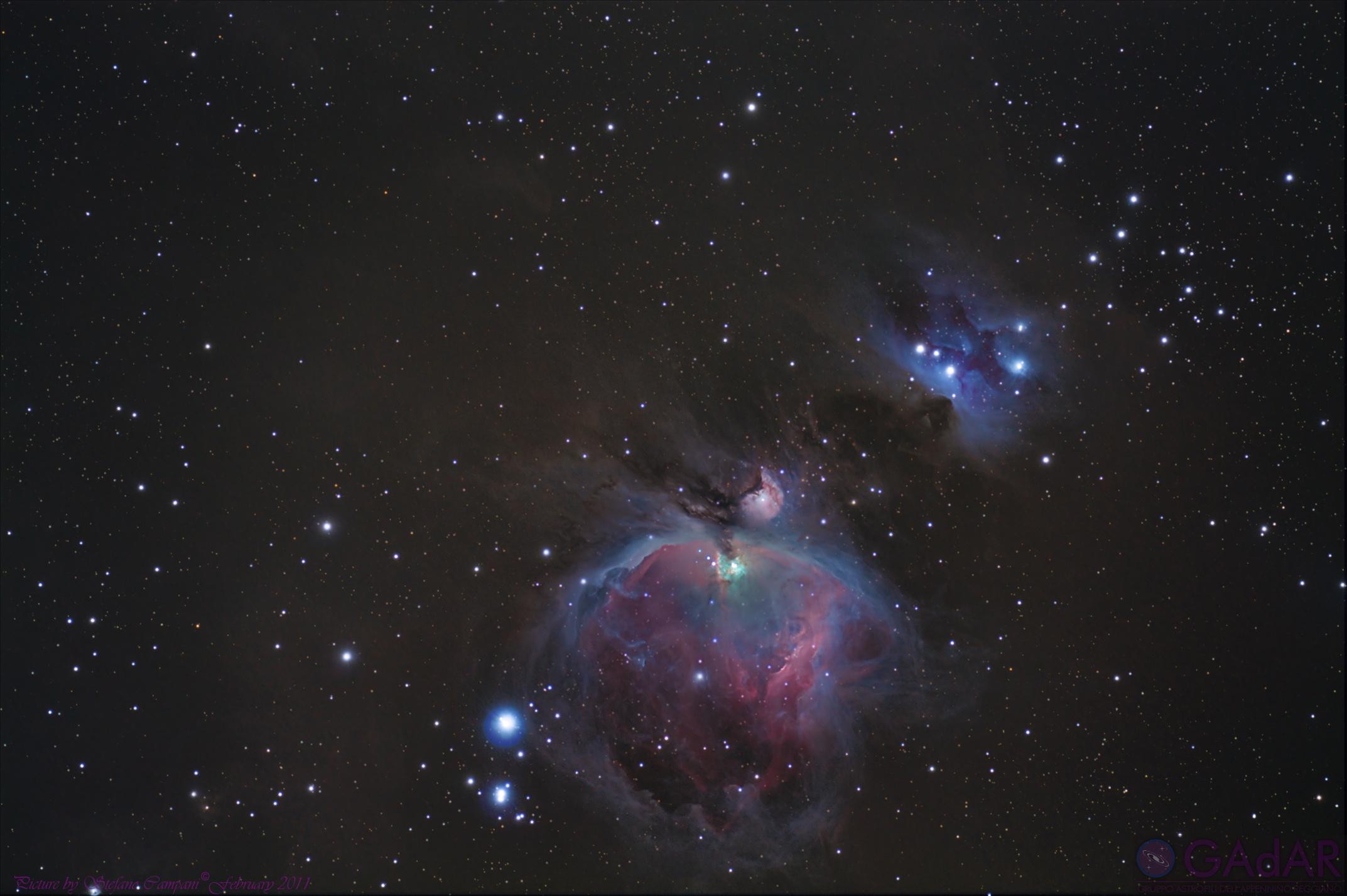 Orion Nebula Reflex...