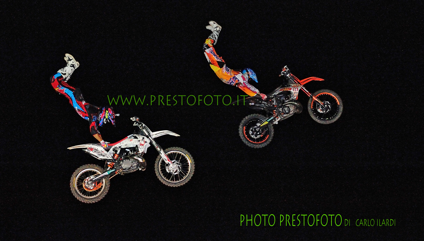 """freestyle extreme motocross """"Double Grab Hart Attack""""..."""