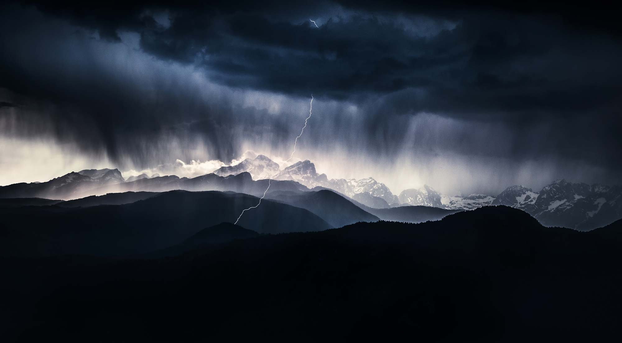 Drama in the mountains...