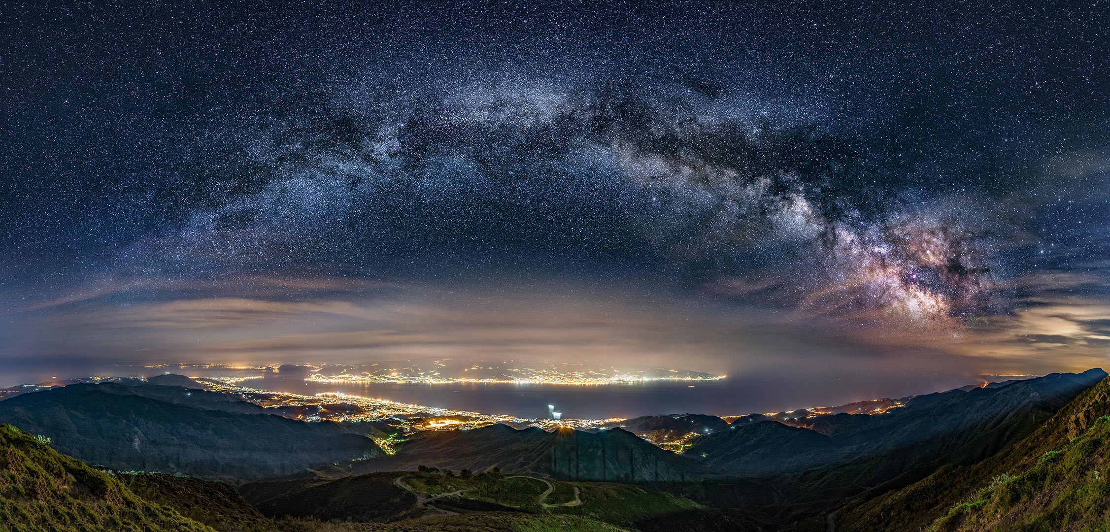 The Milky Way on the Strait...