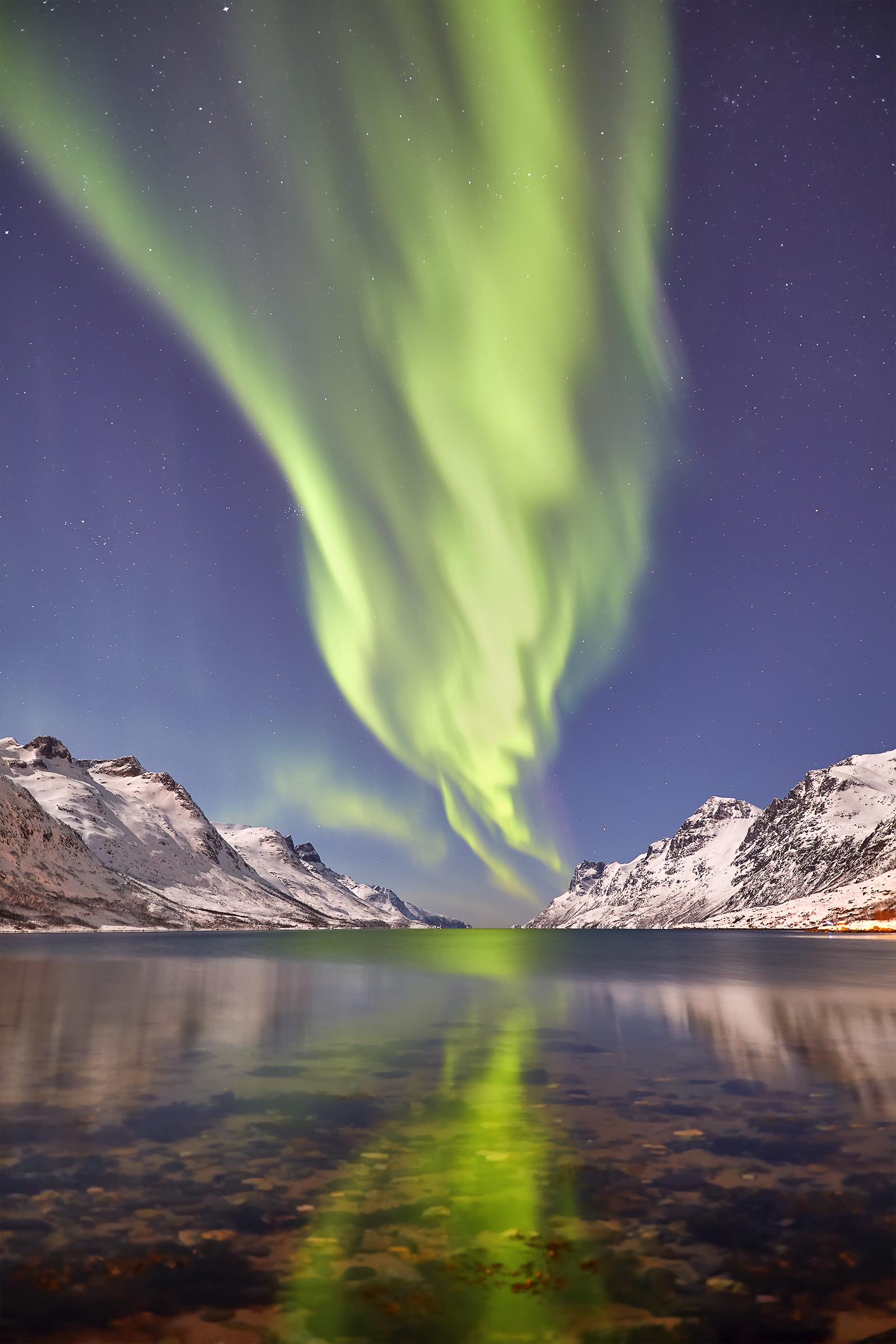 Ersfjord lights...