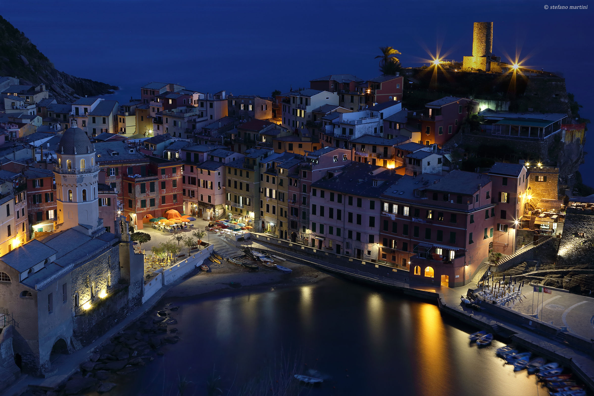 Vernazza - Blue Hour...