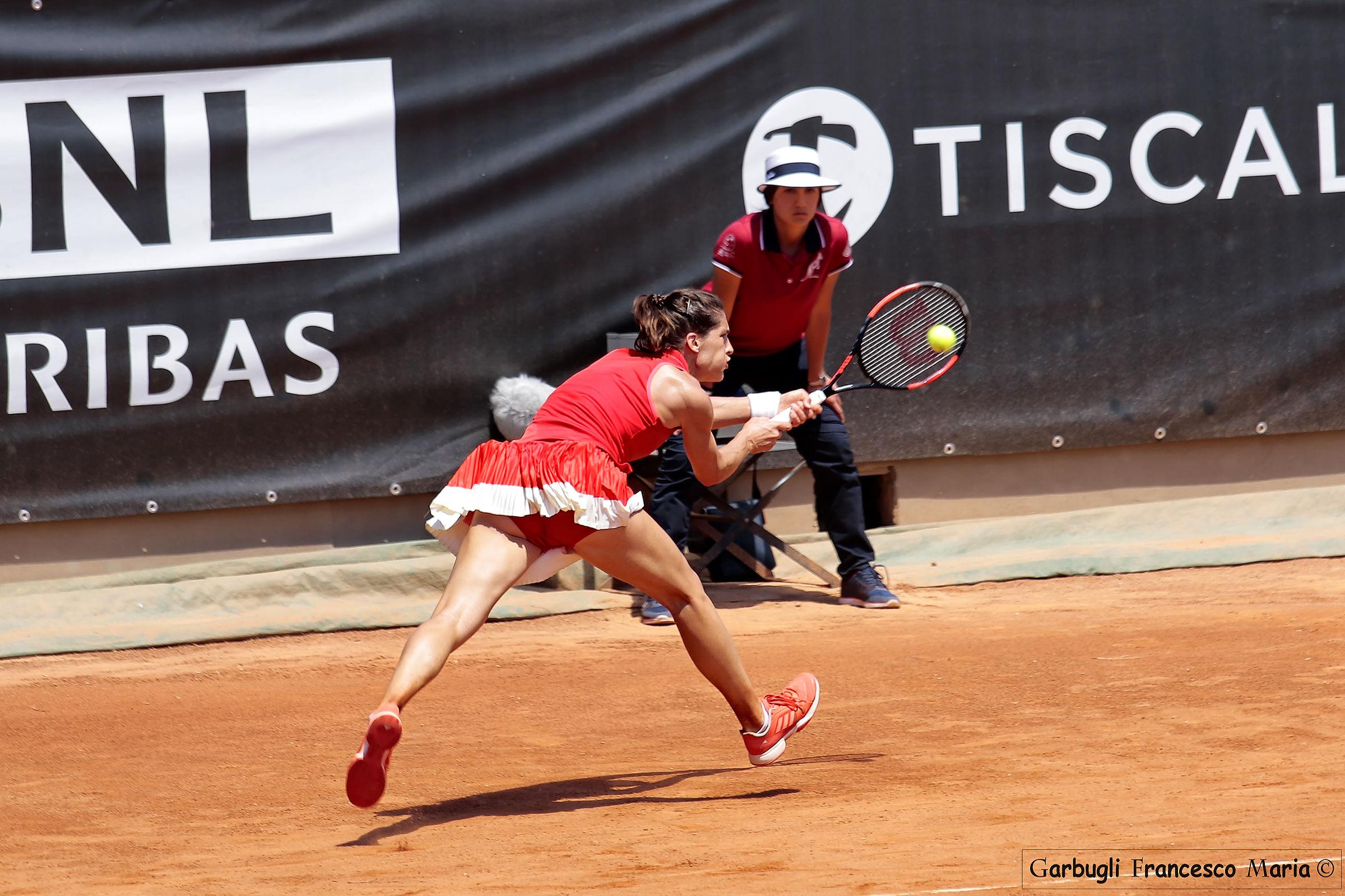 Andrea Petkovi? ..... diagonal in red...