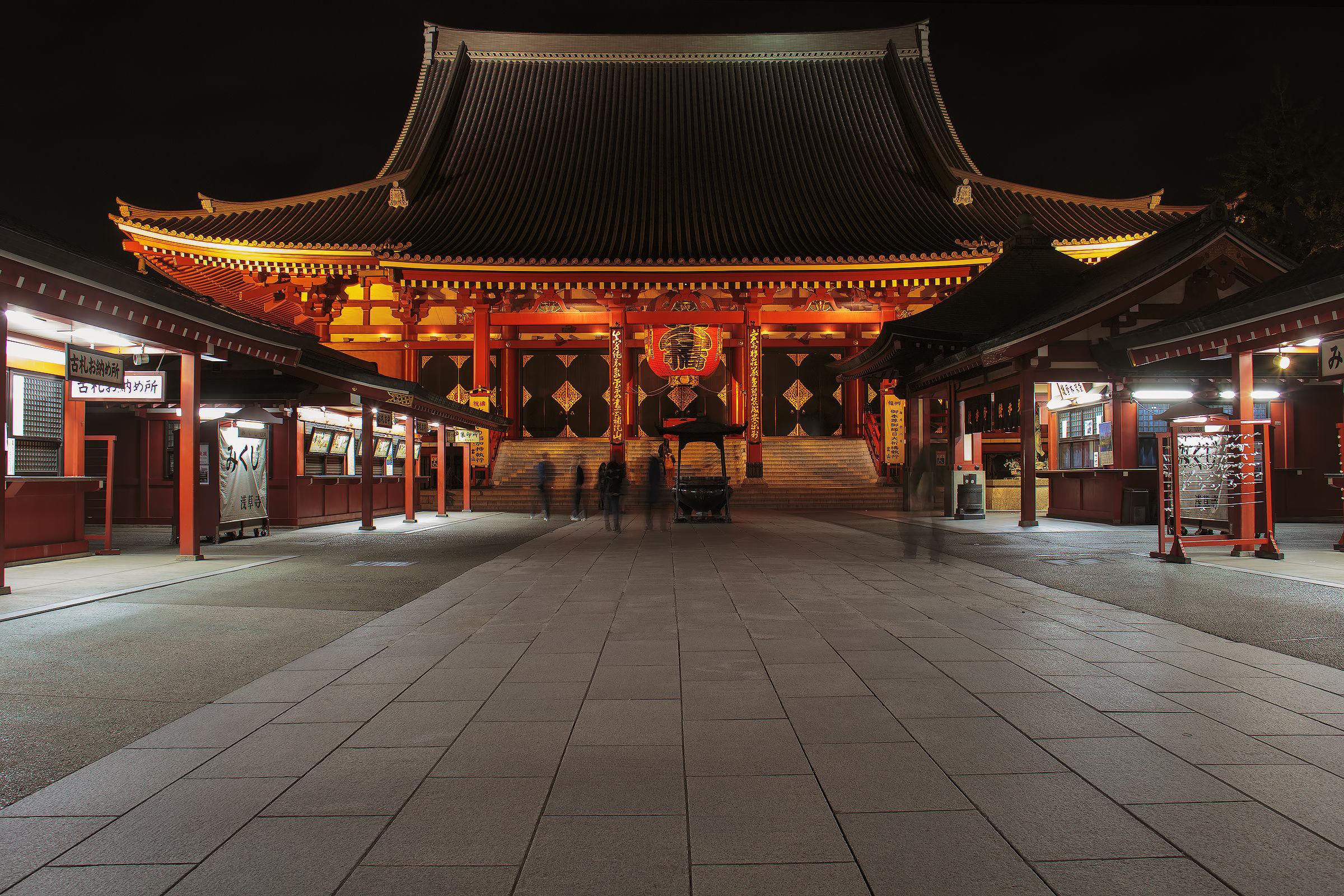 Temple of Senso-ji - Asakusa-Tokyo...