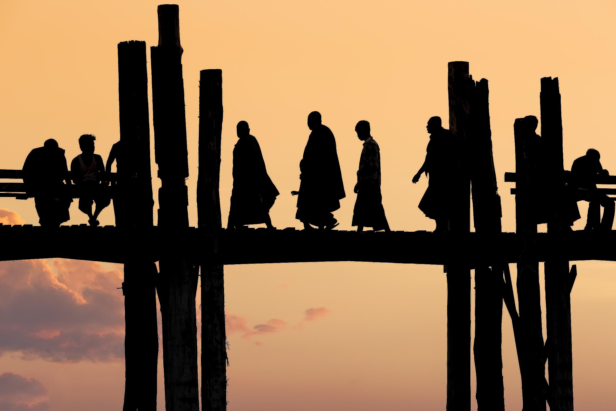 Teak U Bein Bridge...