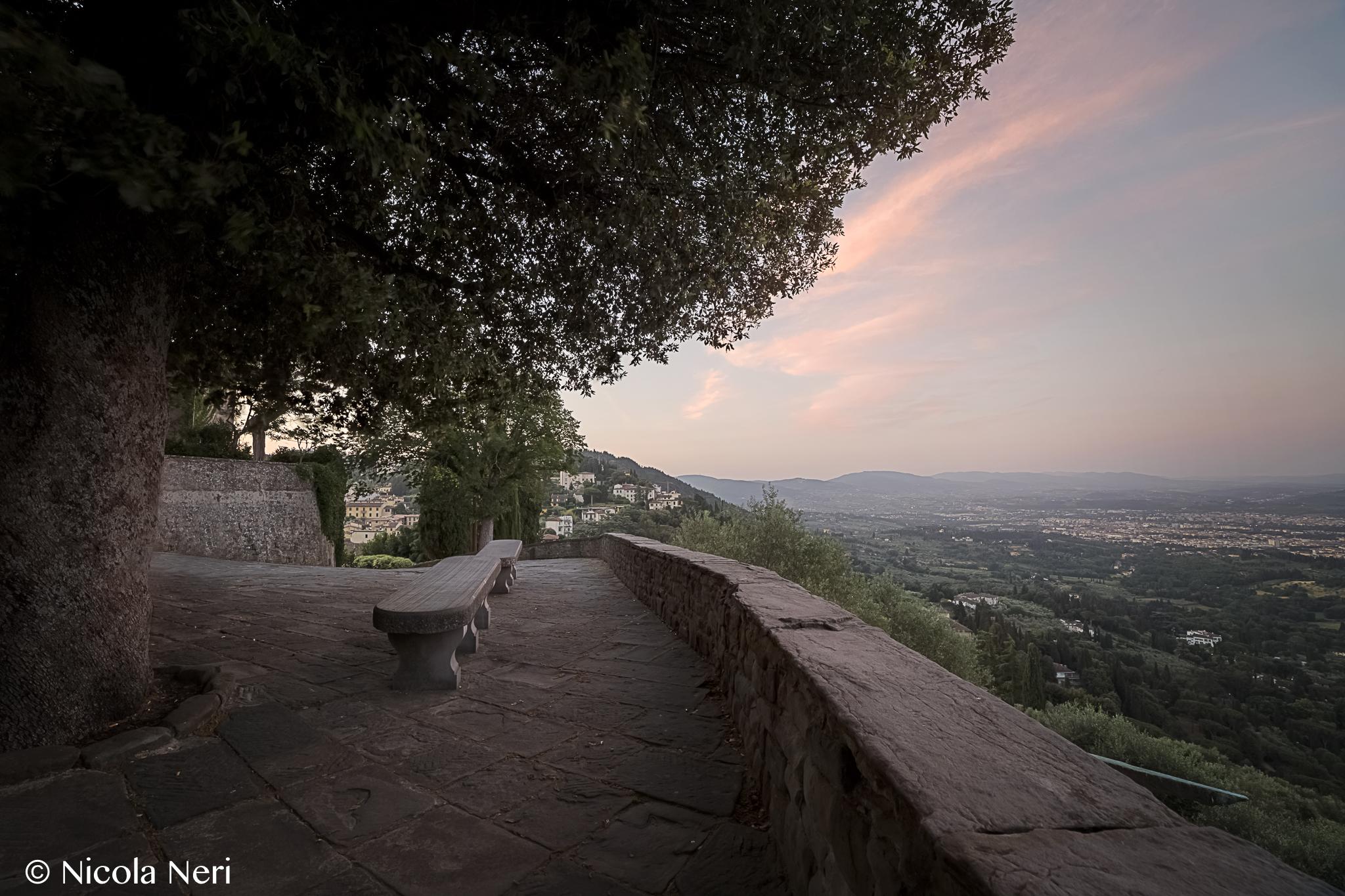 Un'alba con del panorama!...