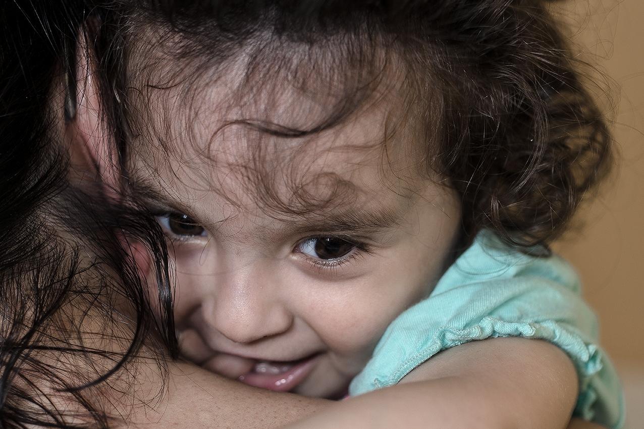 A tender hug...