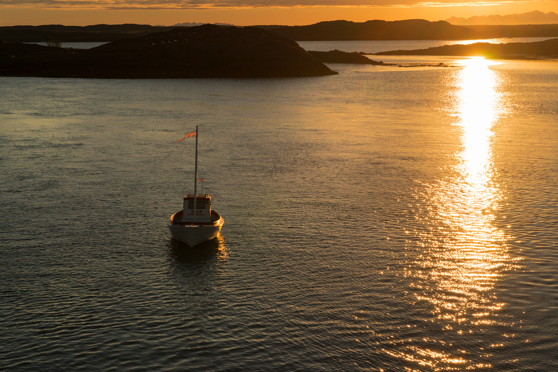 The boat to the fjords...