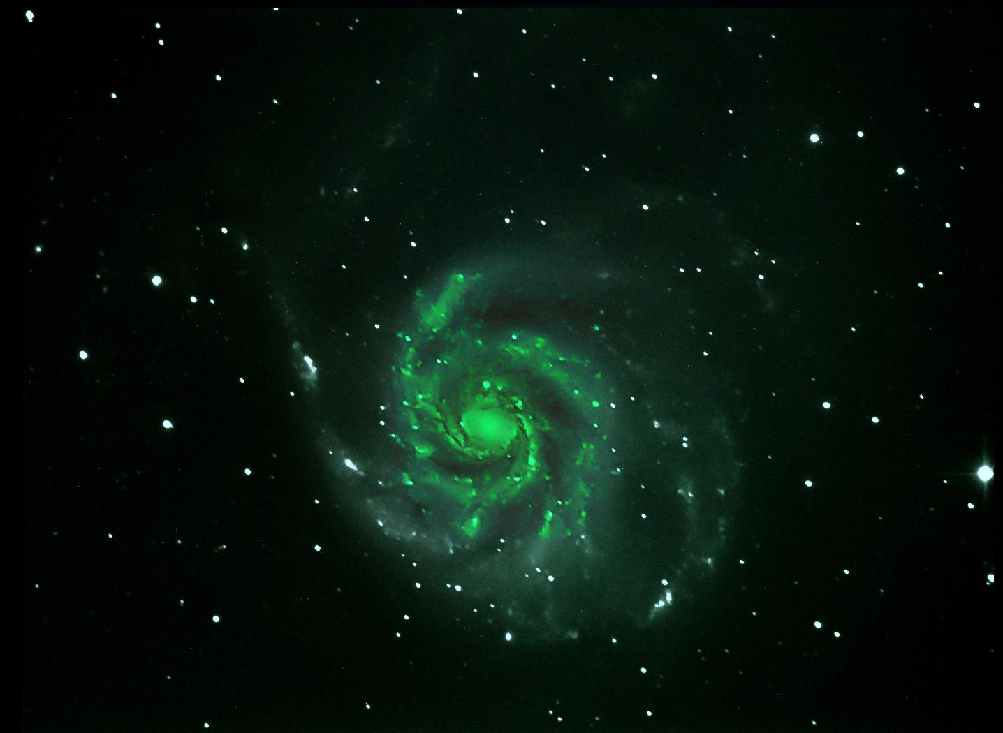 M101 5 frames...