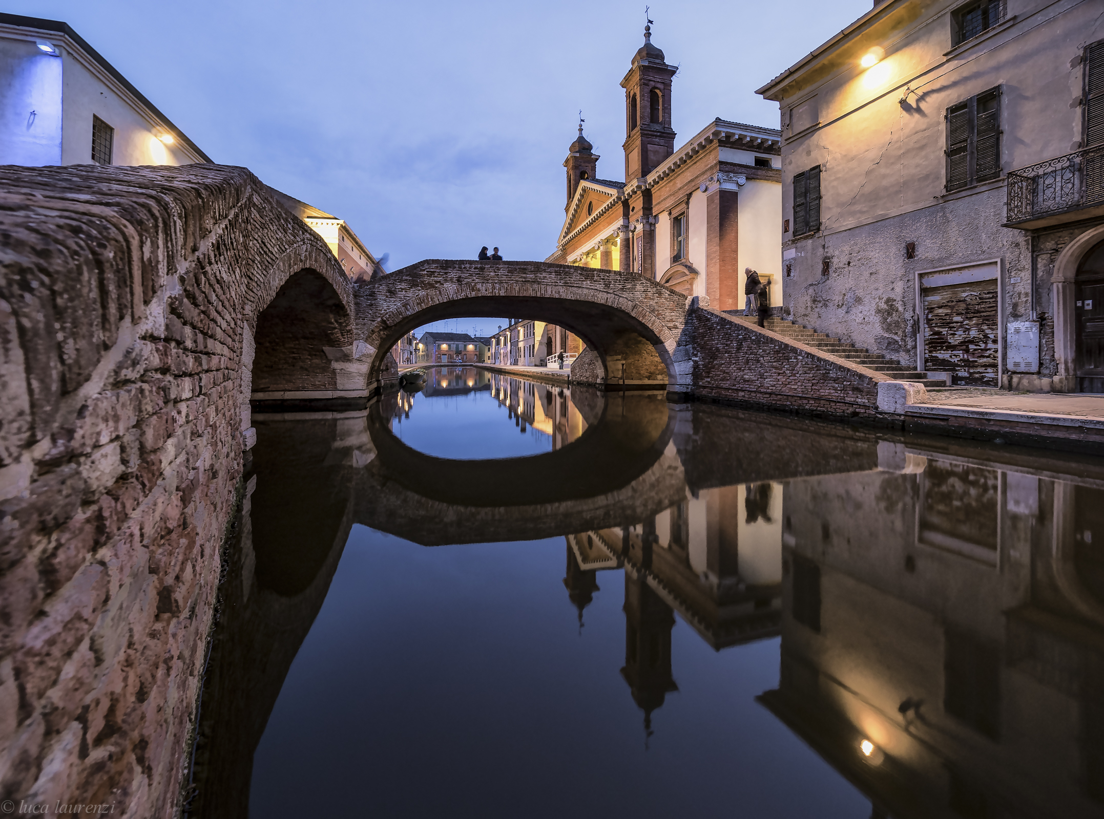 Perspective in Comacchio...