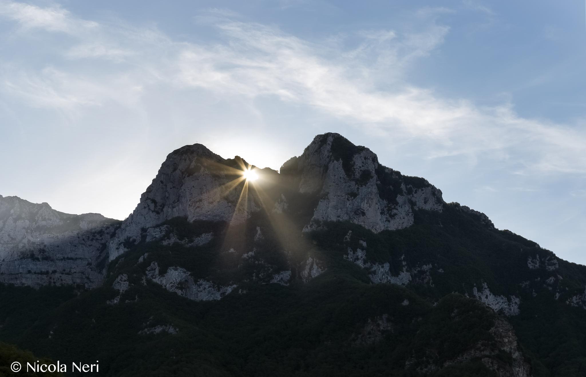 Monte Forato doppia alba...