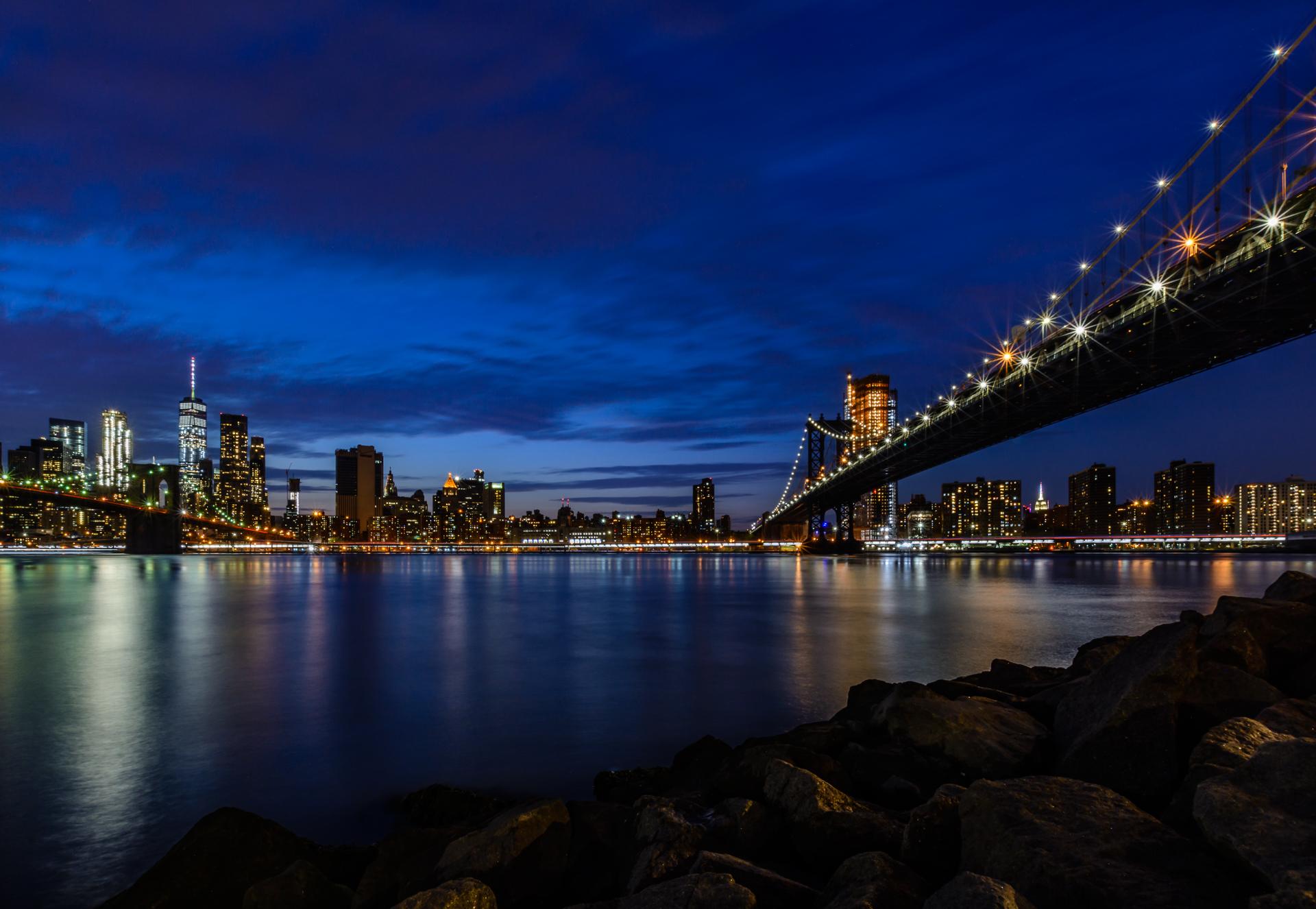 Between the bridges...