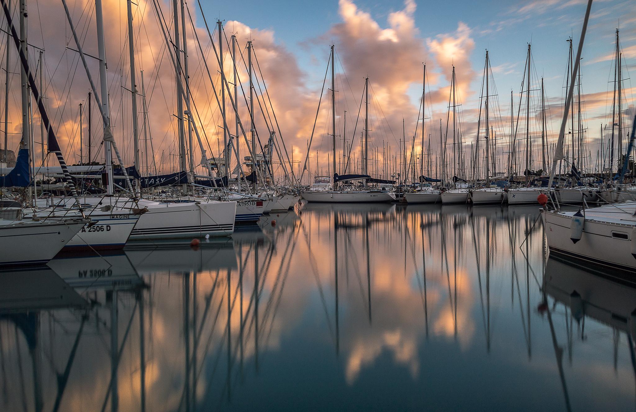 Reflections at Cala...