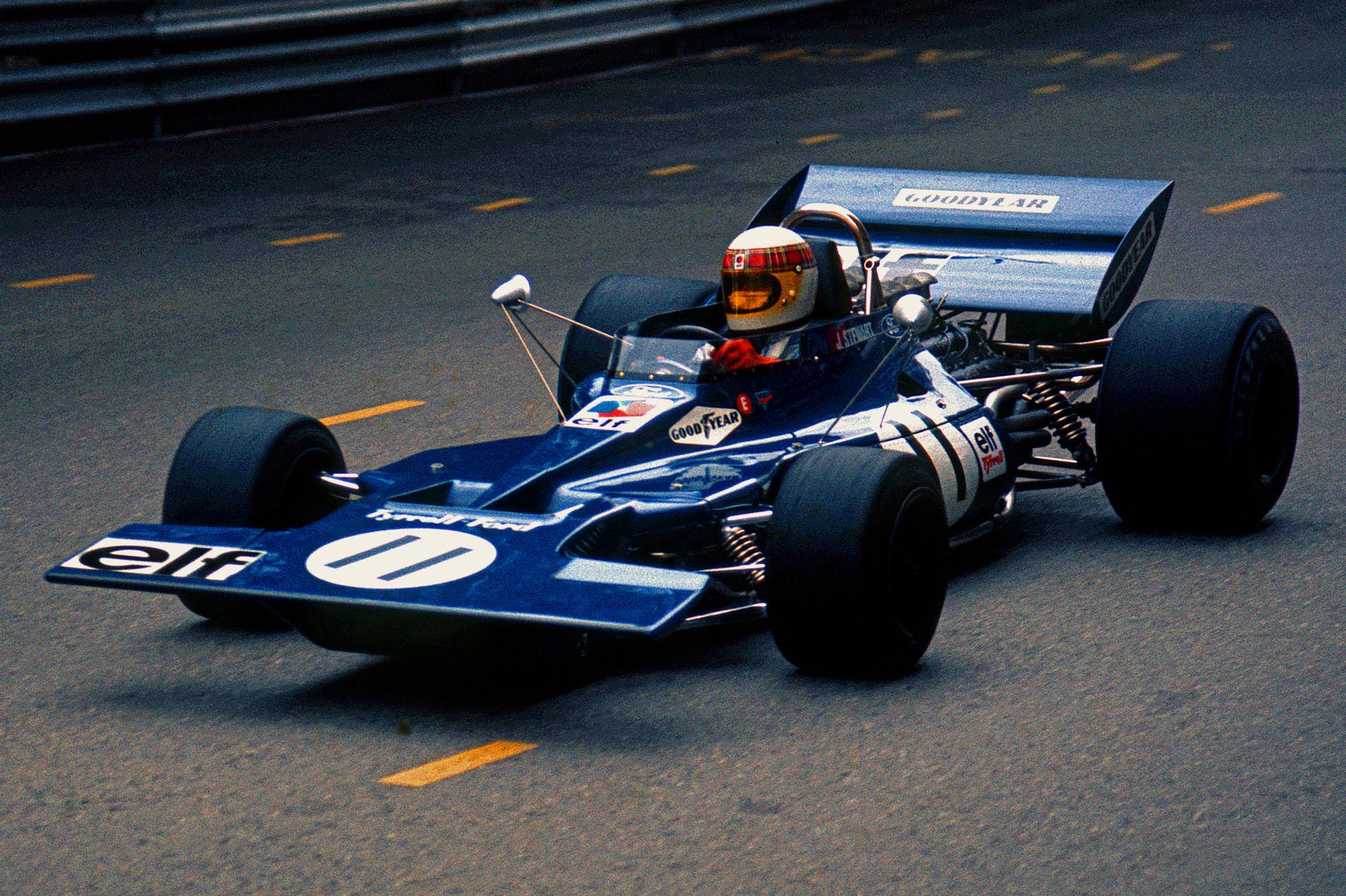 Jackie Stewart is Tyrrell Ford...