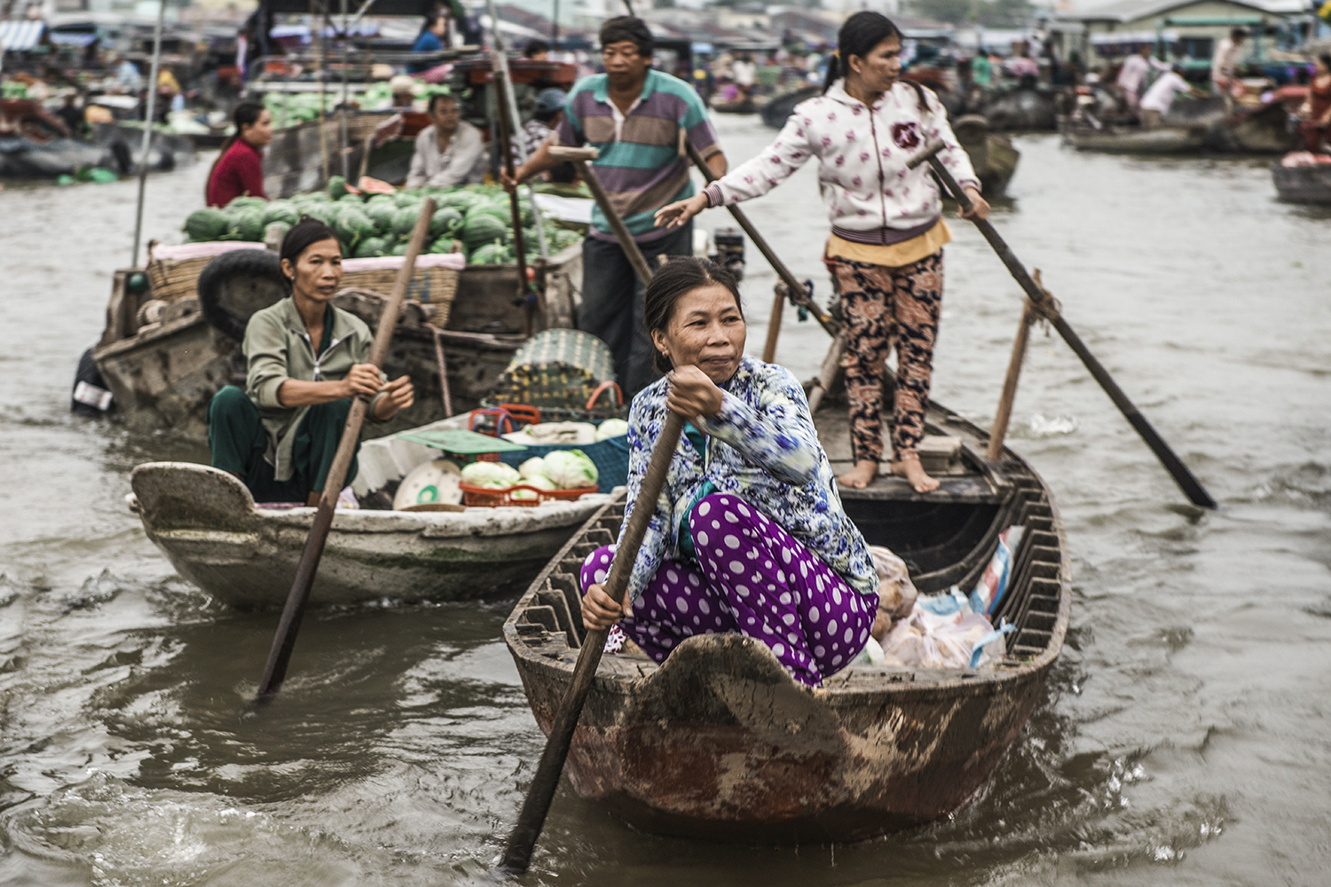 Lungo il Mekong...