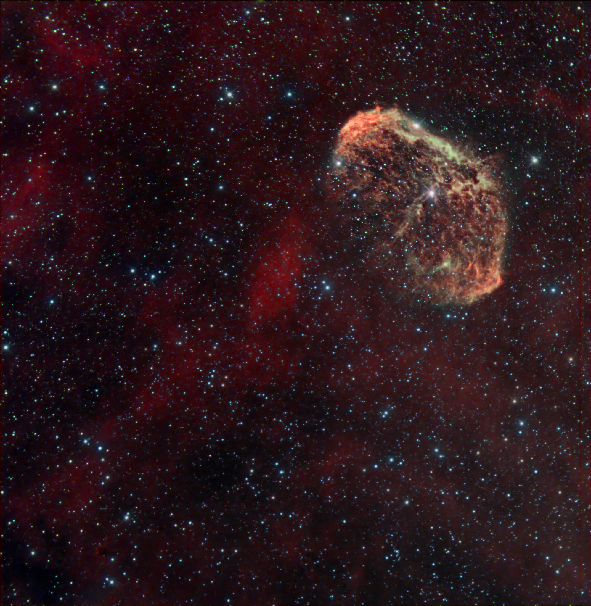 NGC 6888 - Crescent Nebula...