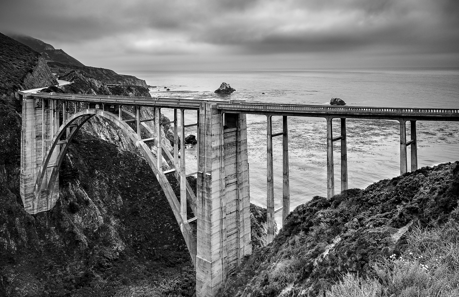 Bixby Creeck Bridge...