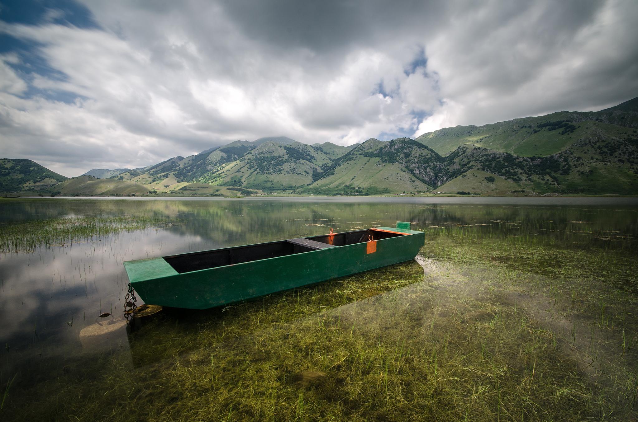 Lake of Matese...