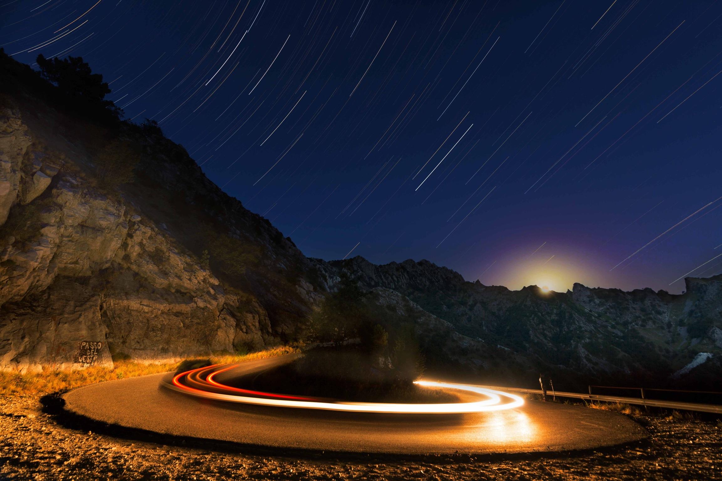 La strada per il cielo...