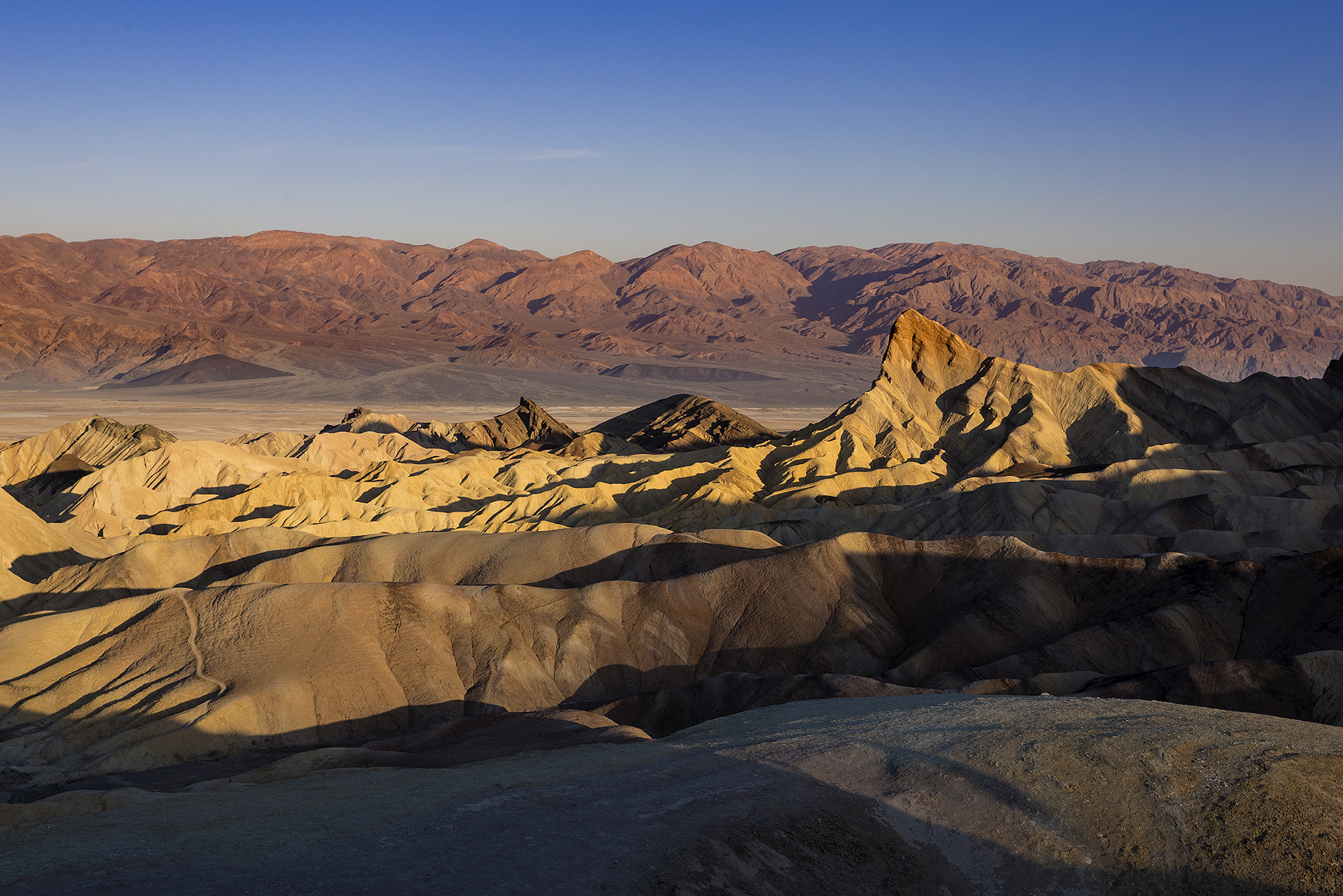 Zabriskie point sunrise...