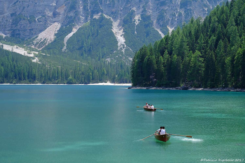 Luglio al Lago di Braies...