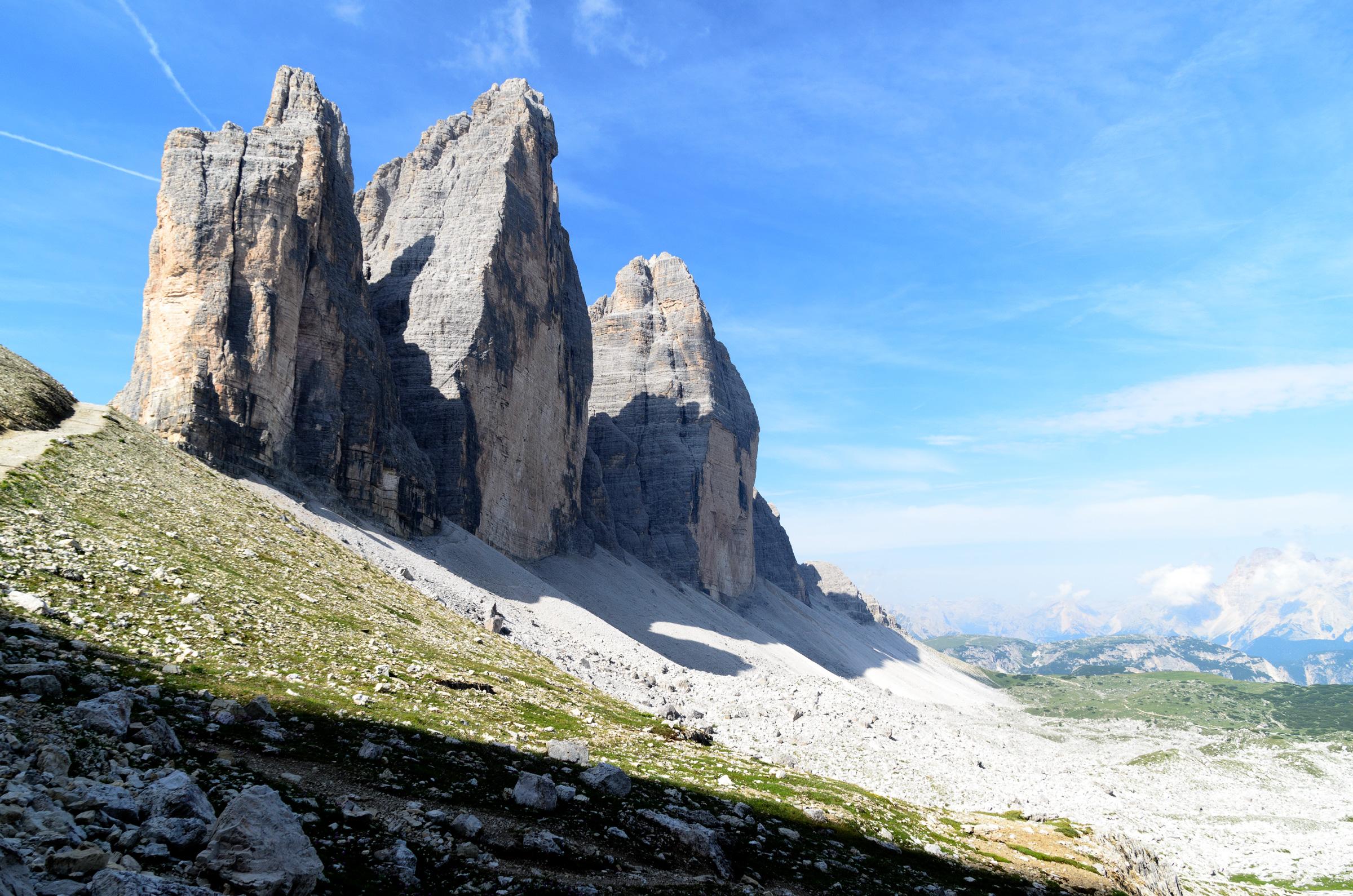 Three lavish peaks...
