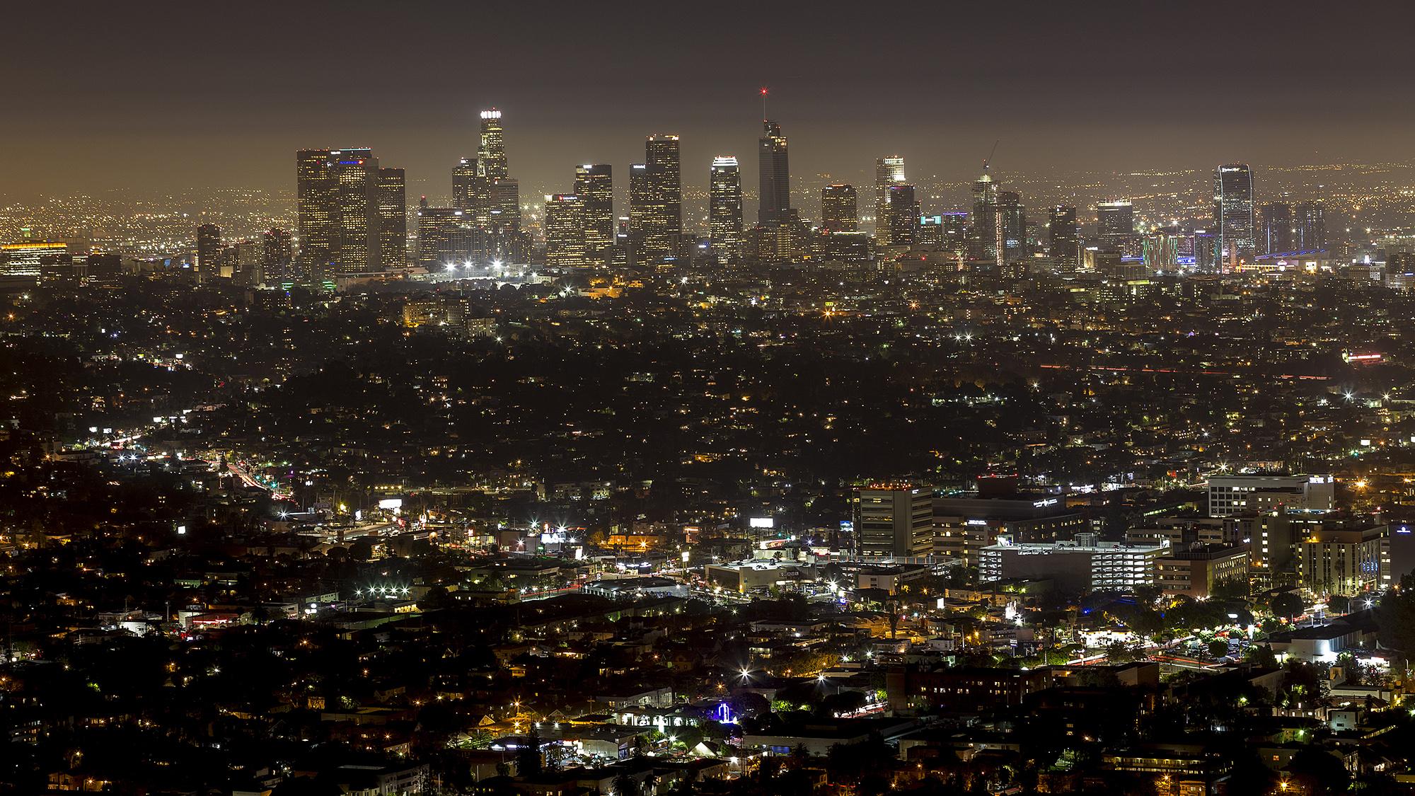 LA downtown...