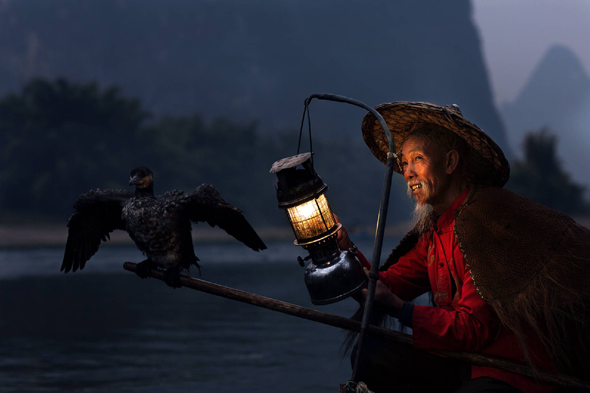 Cormorant Fisherman, China...