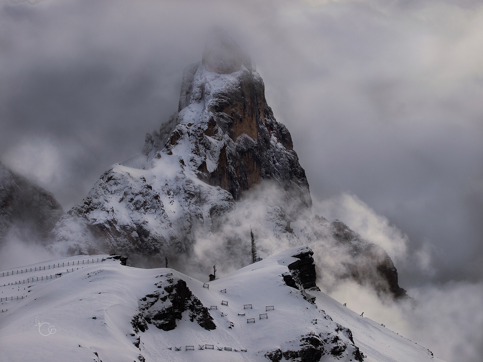 the mountain...
