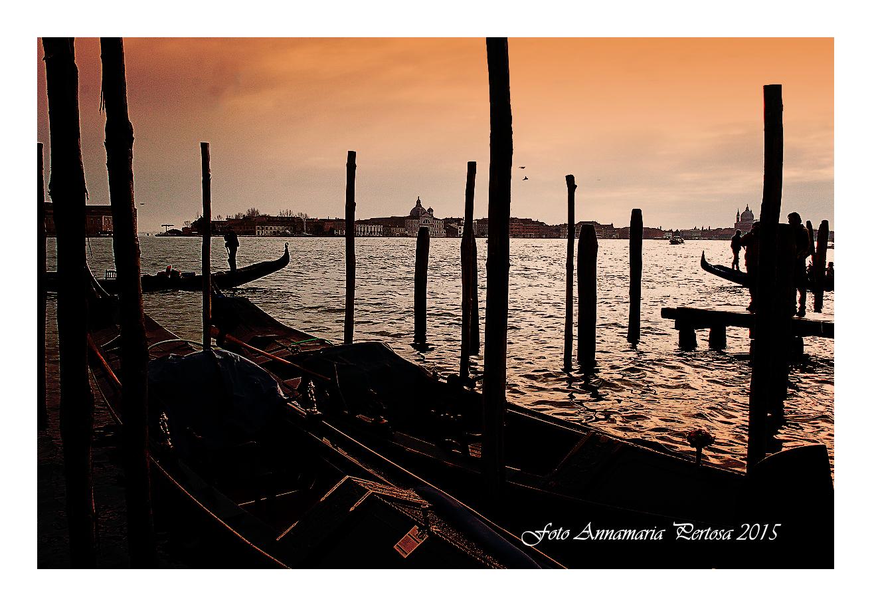 A romantic Venetian sunset...