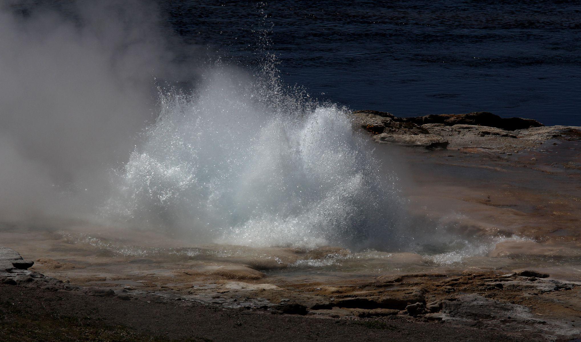 L'acqua che si muove!...