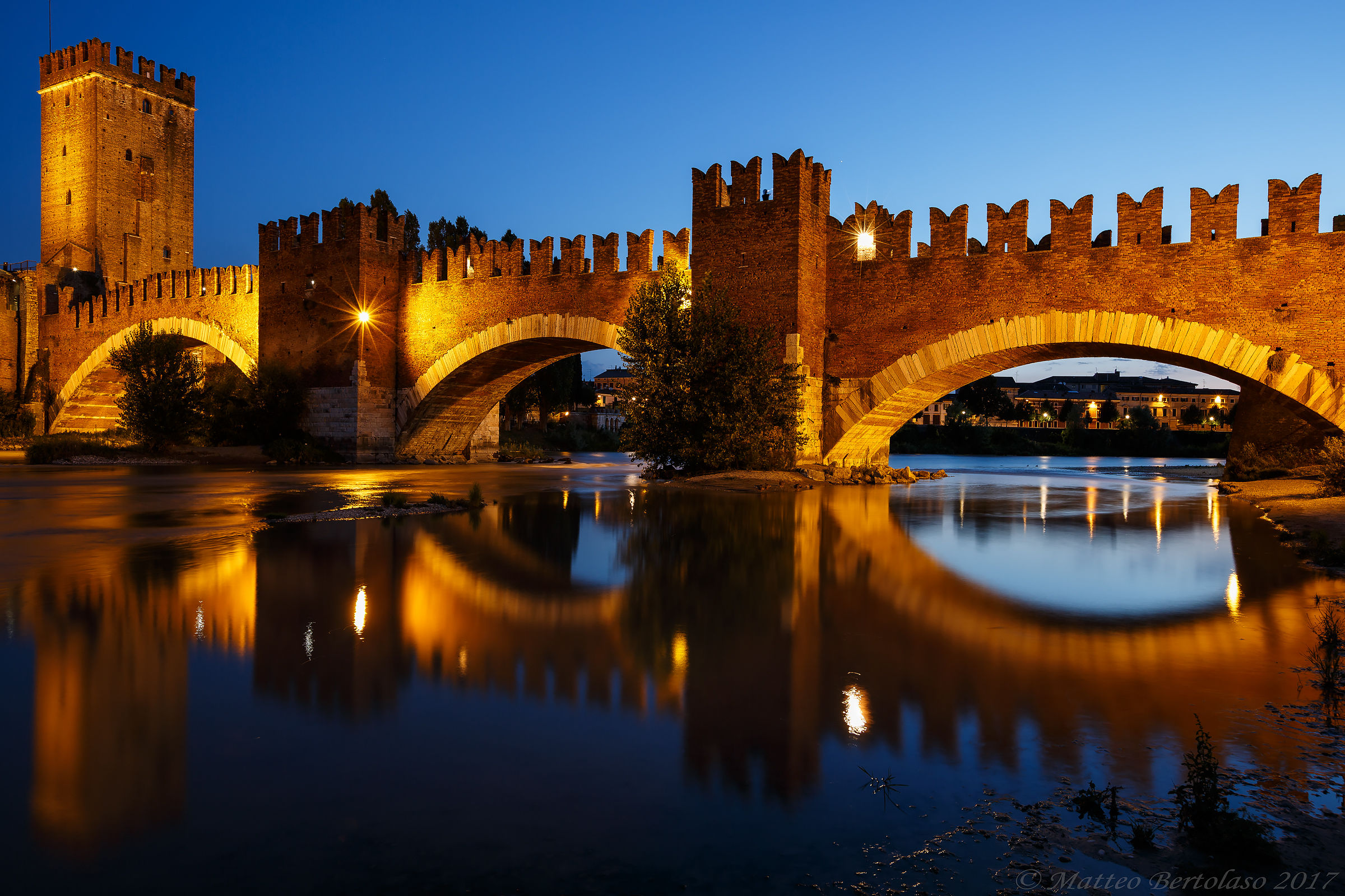 Verona, Ponte Scaligero...