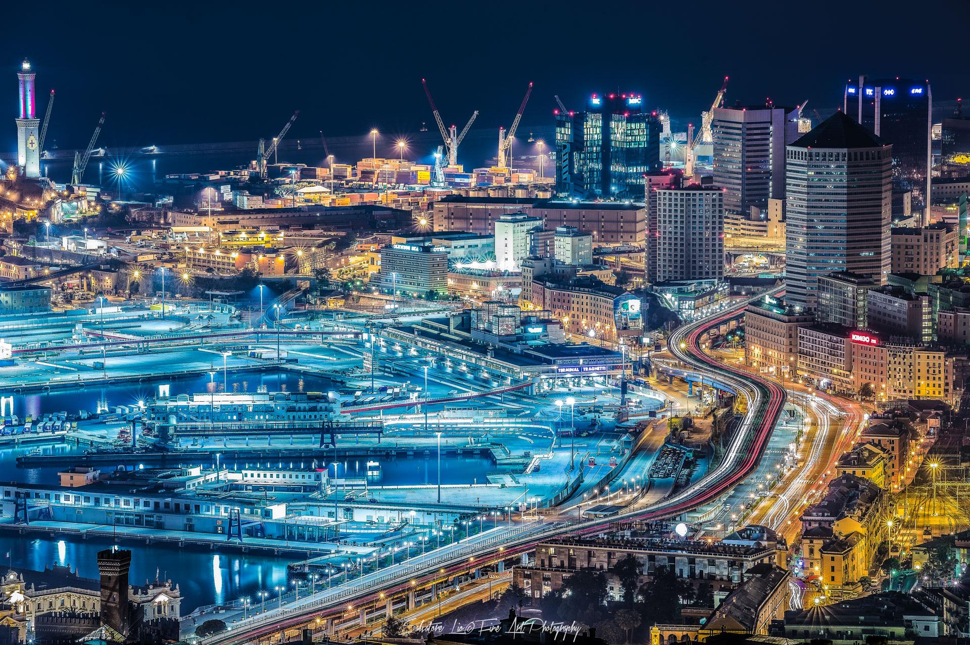 Genova-Cityscape...